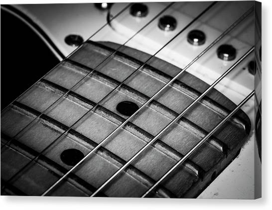 Canvas Print featuring the photograph Strings Series 13 by David Morefield