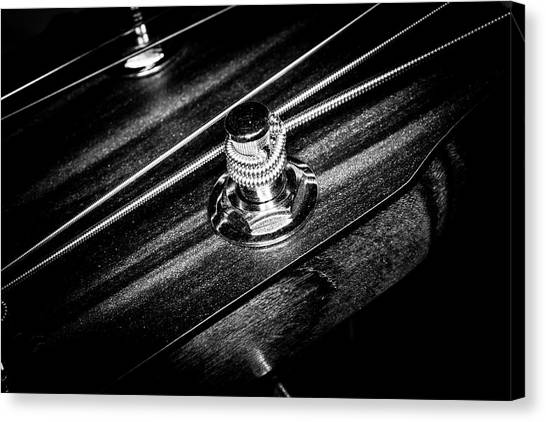Canvas Print featuring the photograph Strings Series 14 by David Morefield