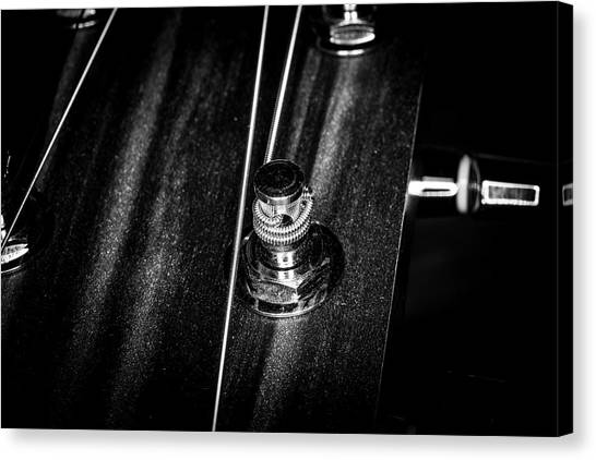 Canvas Print featuring the photograph Strings Series 15 by David Morefield