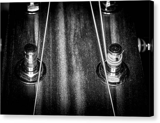 Canvas Print featuring the photograph Strings Series 16 by David Morefield