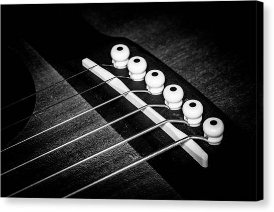 Canvas Print featuring the photograph Strings Series 18 by David Morefield