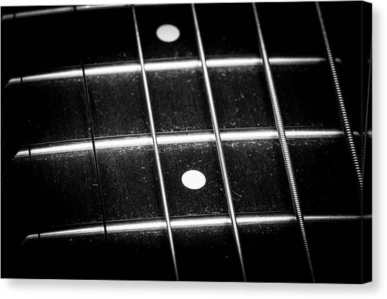 Canvas Print featuring the photograph Strings Series 19 by David Morefield