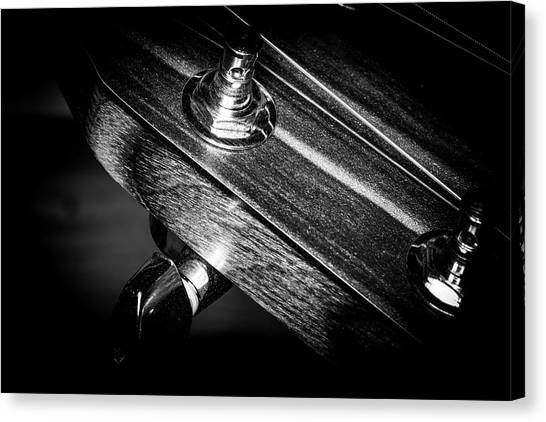 Canvas Print featuring the photograph Strings Series 20 by David Morefield