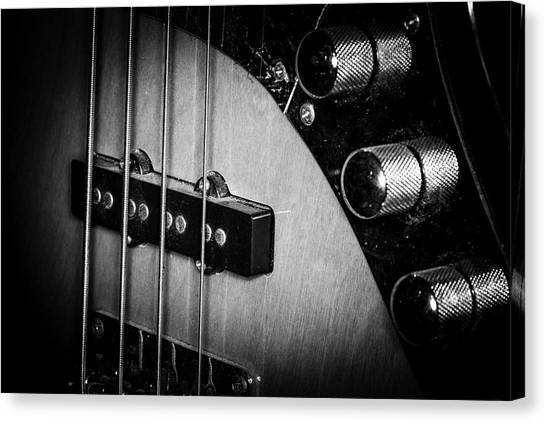Canvas Print featuring the photograph Strings Series 22 by David Morefield