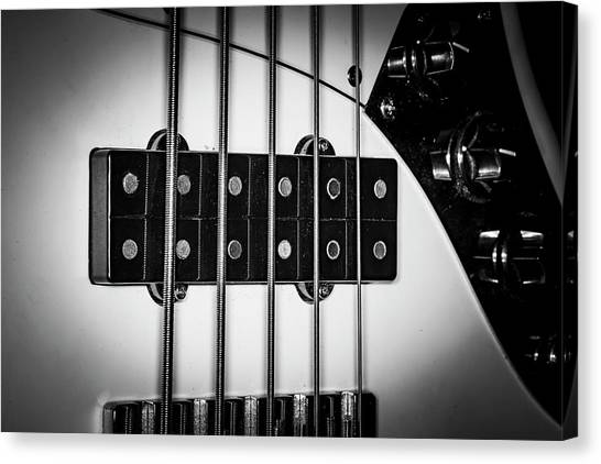 Canvas Print featuring the photograph Strings Series 23 by David Morefield