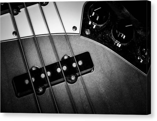 Canvas Print featuring the photograph Strings Series 24 by David Morefield