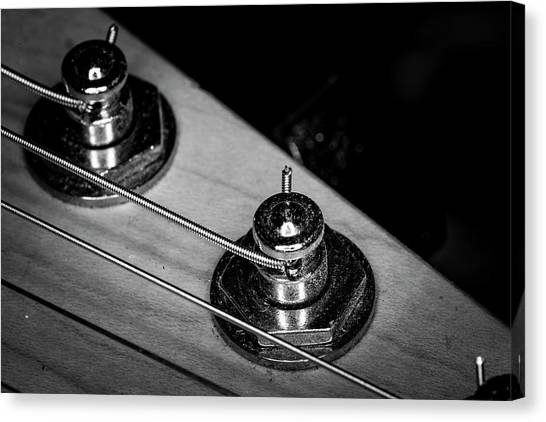 Canvas Print featuring the photograph Strings Series 9 by David Morefield