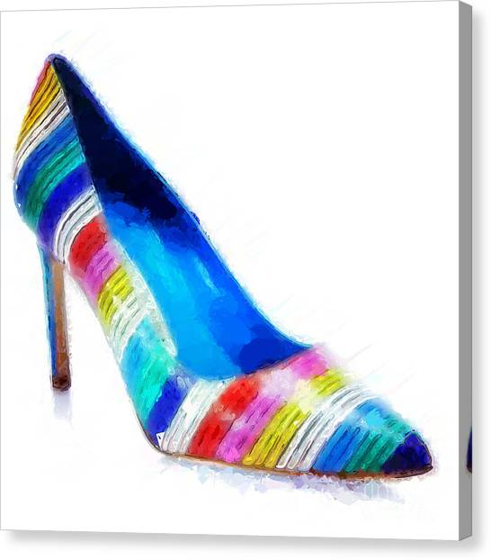 27e3edabe22 Manolo Blahnik Canvas Prints | Fine Art America