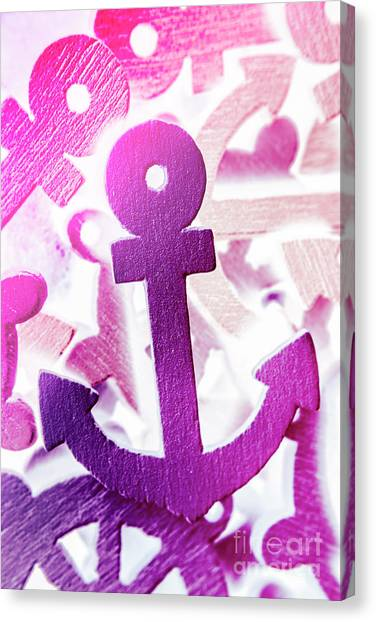 Weights Canvas Print - Stuck On Sailing Symbols by Jorgo Photography - Wall Art Gallery
