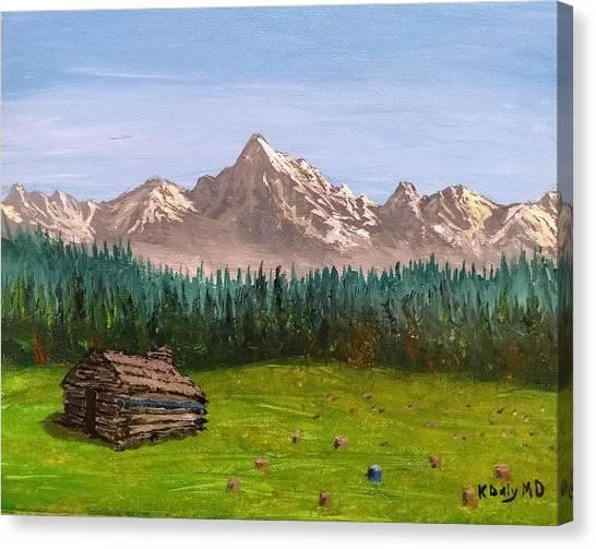 Stump Canvas Print