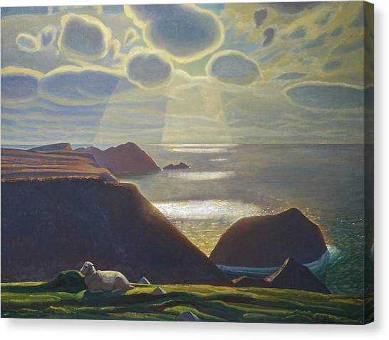 Sturrall Donegal Ireland Canvas Print by Rockwell Kent