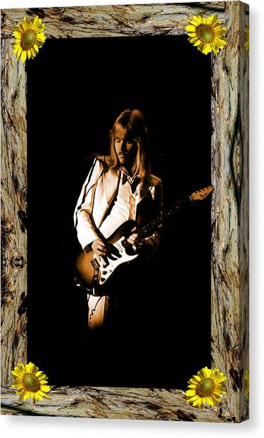 Canvas Print featuring the photograph Styxart In Frame #1 by Ben Upham