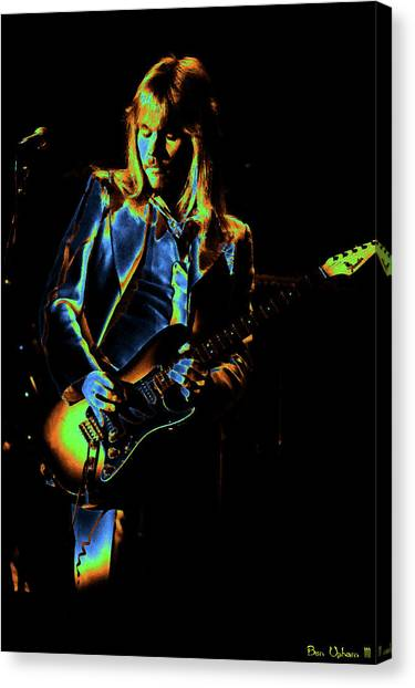 Canvas Print featuring the photograph Styxspo77 #14 Enhanced In Cosmicolors by Ben Upham