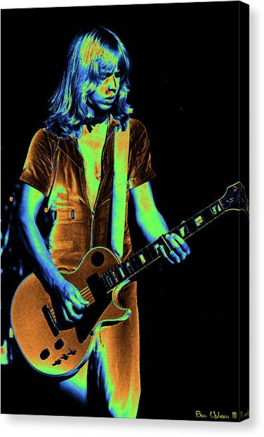 Canvas Print featuring the photograph Styxspo77 #18 Enhanced In Cosmicolors by Ben Upham