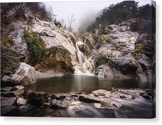Suchurum Waterfall, Karlovo, Bulgaria Canvas Print