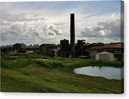 Sugar Factory I, Usine Ste. Madeleine Canvas Print