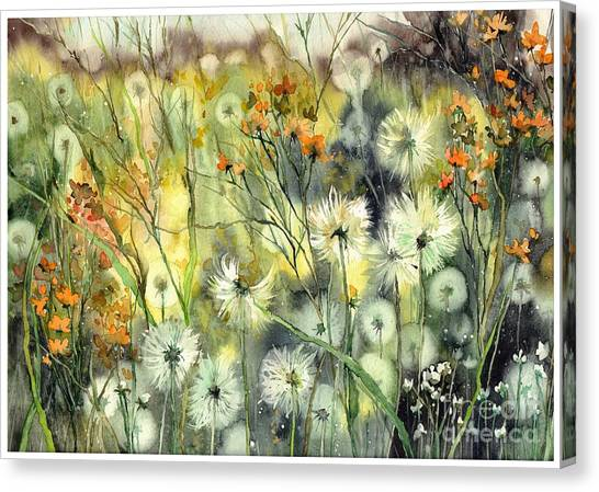 Imagination Canvas Print - Summertime Sadness by Suzann Sines