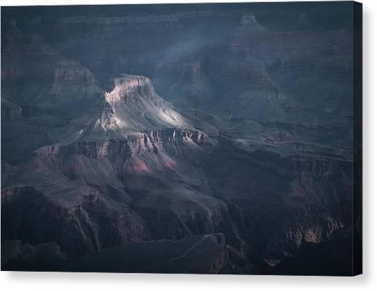 Sunbeamed, Grand Canyon, Az Canvas Print