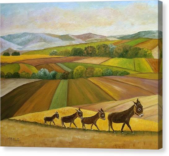 Sunday Promenade Canvas Print