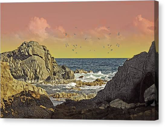 Sundown At Buck Canvas Print