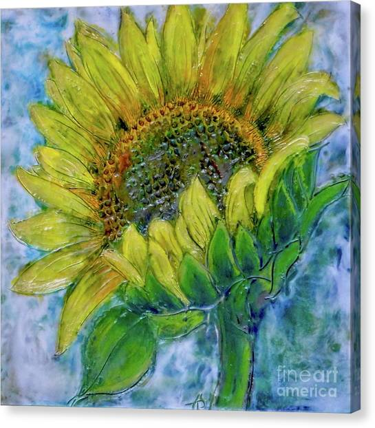 Sunflower Happiness Canvas Print