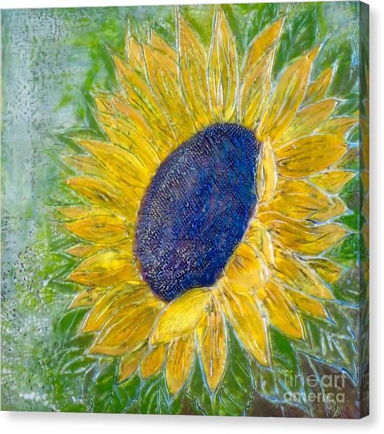 Sunflower Praises Canvas Print