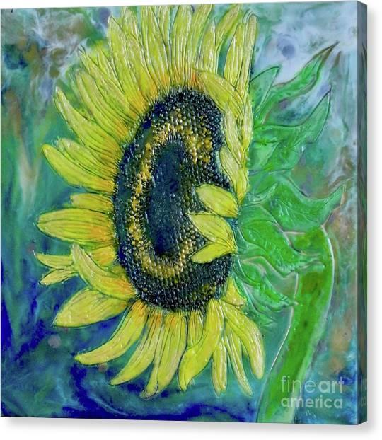 Sunflower Smiles Canvas Print