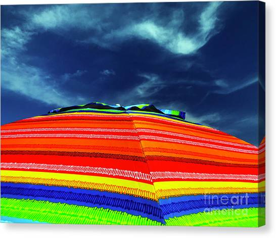 Canvas Print featuring the photograph Sunny Side Up by Rick Locke