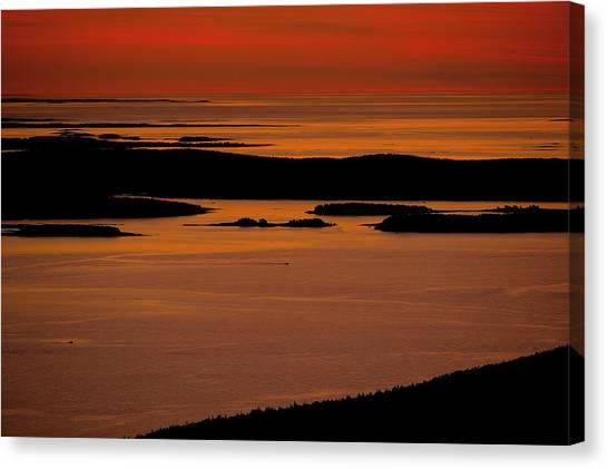 Sunrise Cadillac Mountain Canvas Print