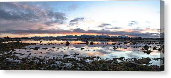 Sunrise Over The Marsh Canvas Print