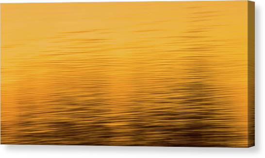 Canvas Print featuring the photograph Sunrise Reflections Abstract by Dan Sproul