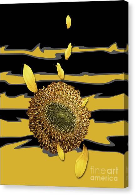 Sun's Flower Canvas Print