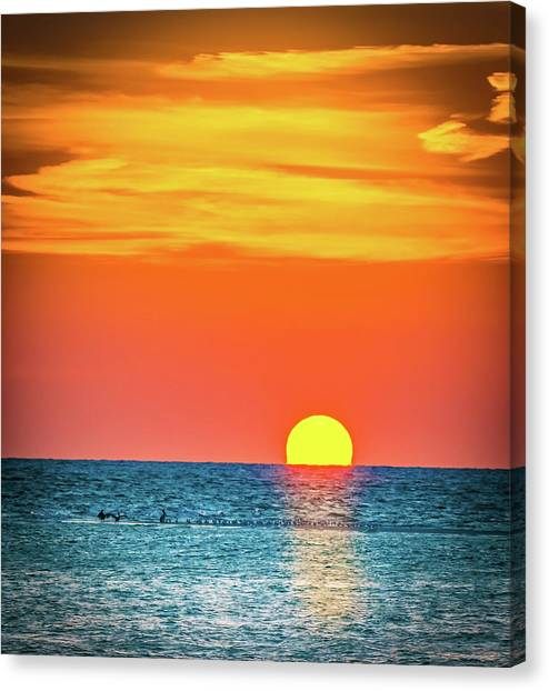 Sunset Captiva  Canvas Print
