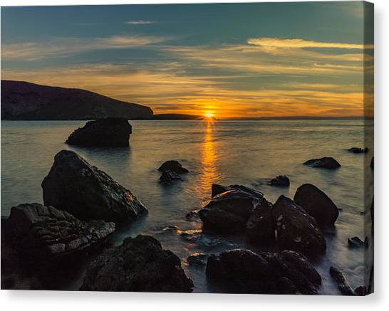 Sunset In Balandra Canvas Print