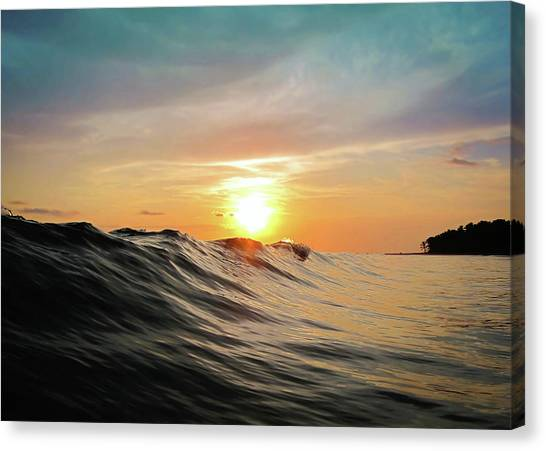 Beautiful Sunrise Canvas Print - Sunset In Paradise by Nicklas Gustafsson