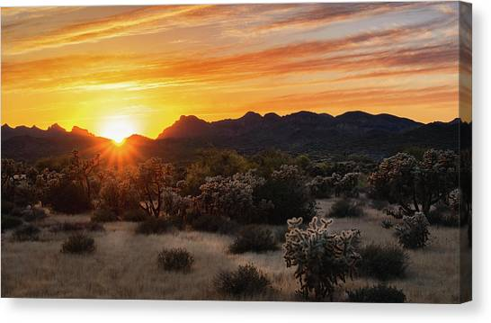 Canvas Print - Sunset Splendor  by Saija Lehtonen
