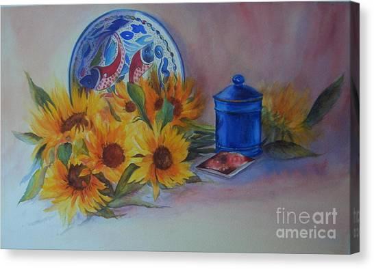 Sunshine In The Kitchen Canvas Print
