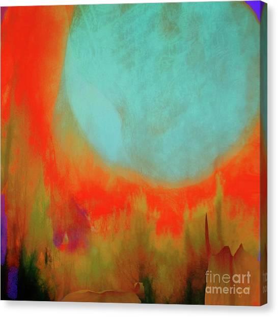 Super Blue Moon Canvas Print