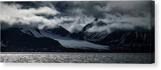Svalbard Mountains Canvas Print