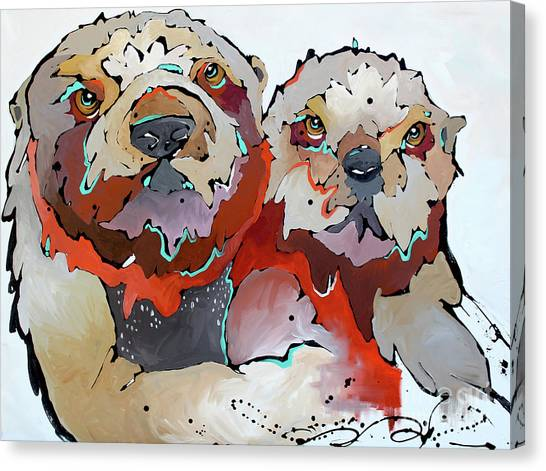 Swaddle Canvas Print