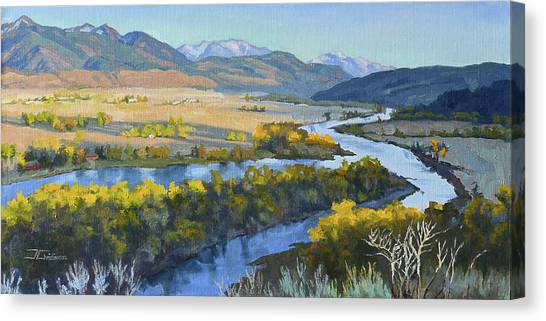 Swan Valley Canvas Print