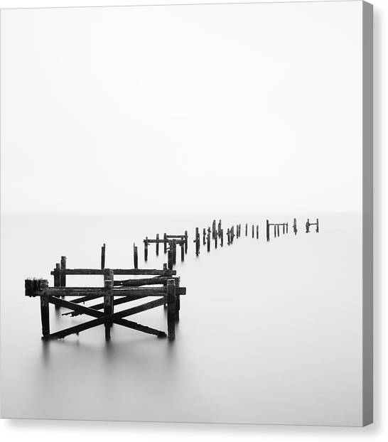 Swanage Pier Canvas Print