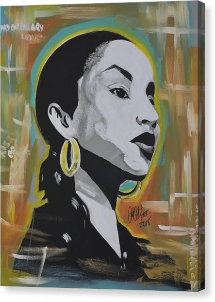 Sweet Sade Canvas Print