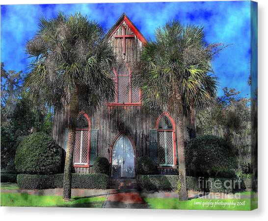 Sweet Tea Canvas Print - Sweet Tea And God's Graces by Tami Quigley