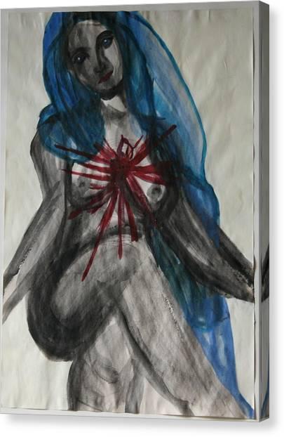 Swollen Heart Canvas Print
