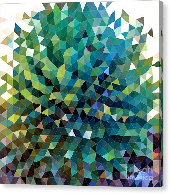 Synchronicity Of Color Canvas Print