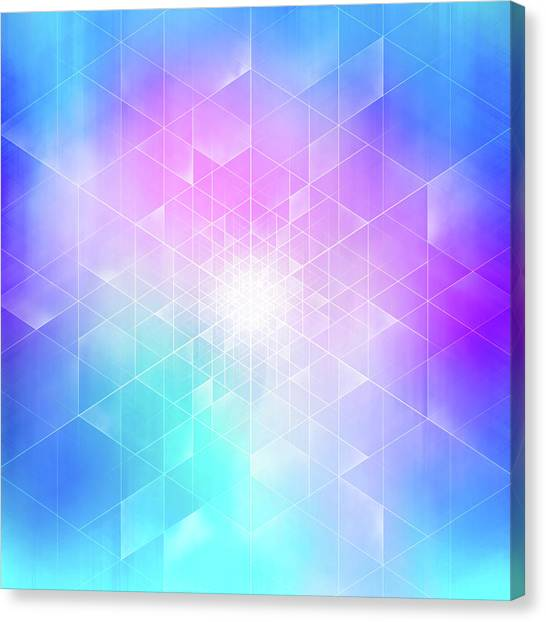 Synthesis Canvas Print