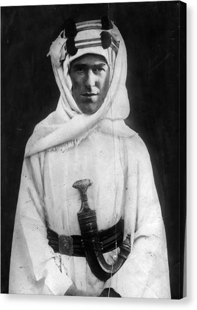 T E Lawrence Canvas Print by Hulton Archive