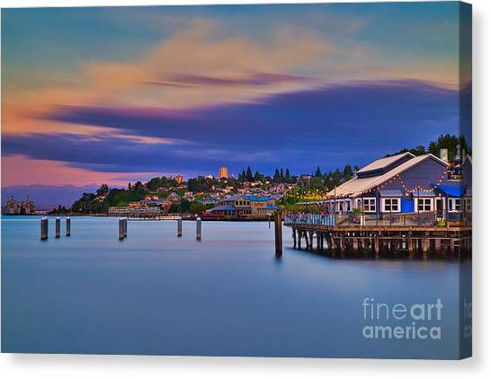 Tacoma, Point Ruston Canvas Print