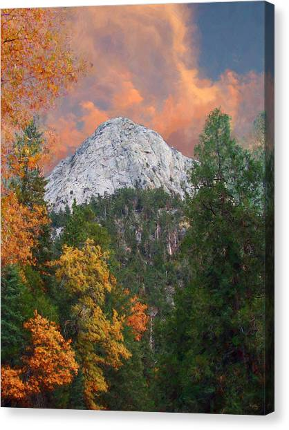 Tahquitz Peak - Lily Rock Painted Version Canvas Print